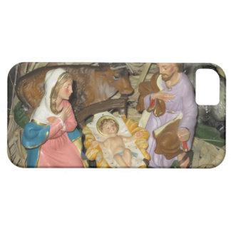 escena de la natividad del navidad del vintage del funda para iPhone SE/5/5s