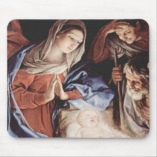 Escena de la natividad tapetes de ratón