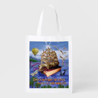 Escena de la nave del libro de la fragata del bolsa de la compra