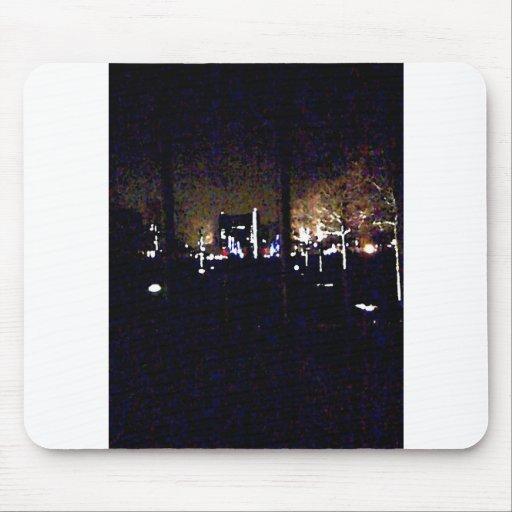 Escena de la noche de Chelsea Mousepads