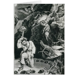 Escena de la ópera 'Der Freischutz Tarjeta De Felicitación