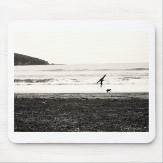 Escena de la playa de California septentrional Tapete De Ratón