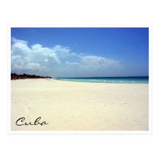 escena de la playa de Varadero Tarjeta Postal
