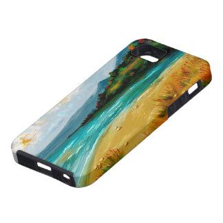 escena de la playa del caso del iphone 5 iPhone 5 Case-Mate cobertura