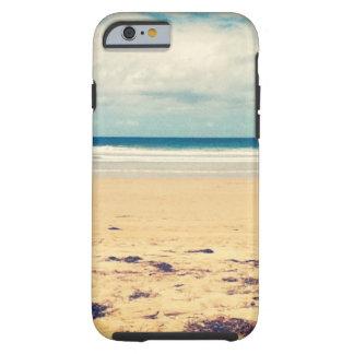 Escena de la playa funda de iPhone 6 tough