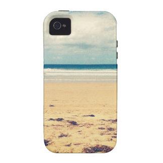 Escena de la playa vibe iPhone 4 funda