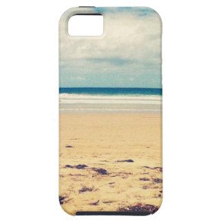Escena de la playa iPhone 5 protectores