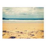 Escena de la playa tarjeta postal