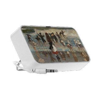 Escena de la playa - Winslow Homer iPod Altavoces