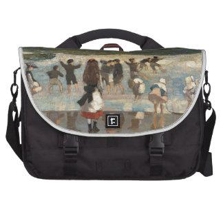 Escena de la playa - Winslow Homer Bolsa De Ordenador