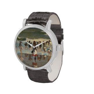 Escena de la playa - Winslow Homer