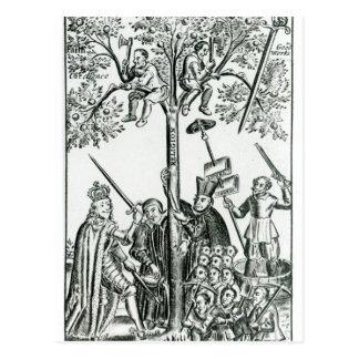 Escena 'de los oráculos del pastor postales
