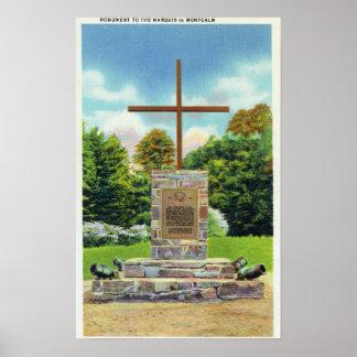 Escena de Marquis de Montcalm Monument Poster