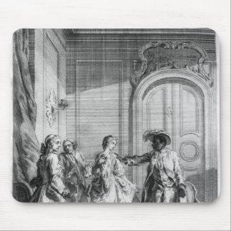 """Escena de """"Othello"""" por William Shakespeare Alfombrillas De Ratones"""