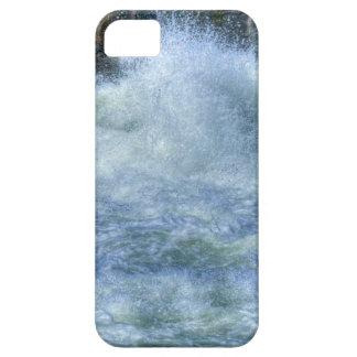 Escena de precipitación de la naturaleza del río iPhone 5 funda