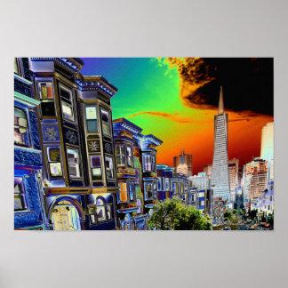 Escena de San Francisco Póster