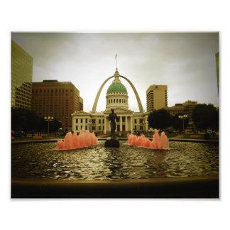 Escena de St. Louis Fotografía
