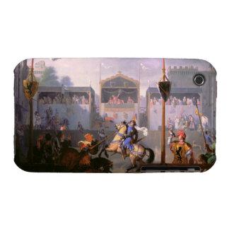 Escena de un torneo en el siglo XIV, 1 Funda Para iPhone 3