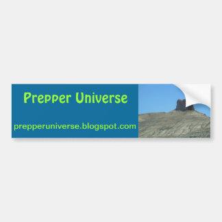 Escena de Utah del universo de Prepper Pegatina Para Auto