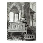 Escena del acto II de Romeo y de Juliet Postal