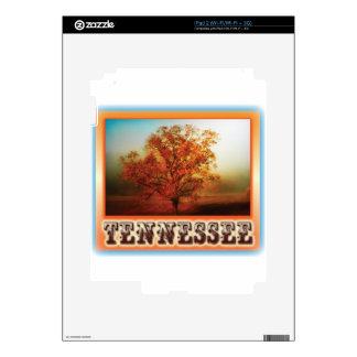 Escena del árbol de la caída de Tennessee iPad 2 Skins