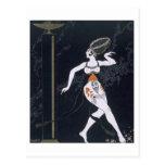 Escena del ballet con Tamara Karsavina (1885-1978) Tarjeta Postal