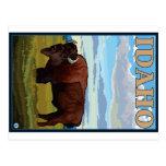Escena del bisonte - Idaho Postal