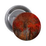 Escena del bosque del vintage pin