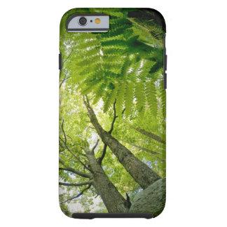 Escena del bosque en el parque nacional del funda resistente iPhone 6
