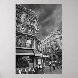 Escena del café de París (iv) Póster