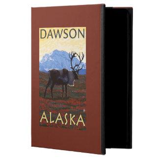 Escena del caribú - Dawson, Alaska