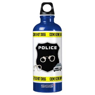 Escena del crimen de la policía