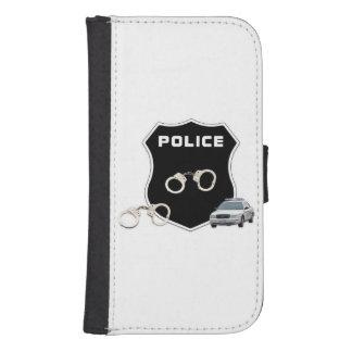 Escena del crimen de los polis cartera para teléfono