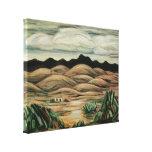 Escena del desierto de Marsden Hartley, paisaje de Impresion De Lienzo