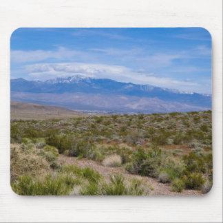 Escena del desierto de Pahrump Alfombrillas De Raton