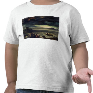 Escena del diluvio 1818-20 camiseta