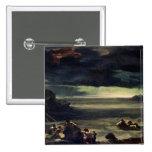 Escena del diluvio, 1818-20 pin cuadrado