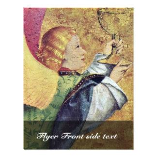 Escena del fragmento de la crucifixión a la derech tarjetas publicitarias