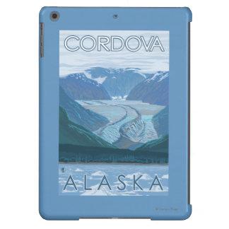 Escena del glaciar - Cordova, Alaska Funda iPad Air