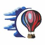 Escena del globo del aire caliente