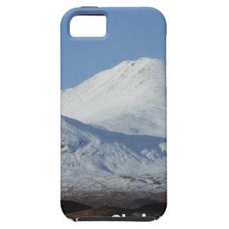 escena del invierno del navidad funda para iPhone SE/5/5s