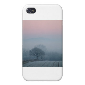Escena del invierno en Irlanda iPhone 4 Coberturas