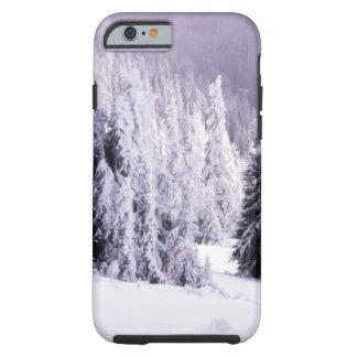 Escena del invierno funda resistente iPhone 6