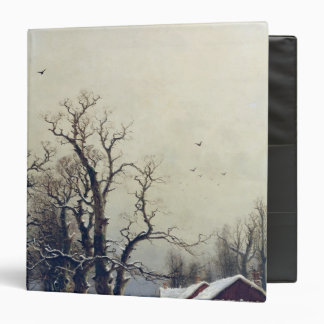 Escena del invierno, siglo XIX