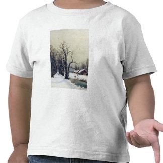 Escena del invierno, siglo XIX Camiseta