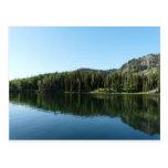 escena del lago postal