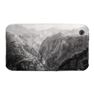 Escena del mesón en el puente del diablo con la ca Case-Mate iPhone 3 fundas