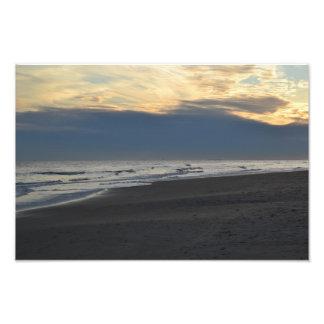 Escena del océano impresión fotográfica