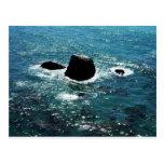 Escena del océano tarjetas postales