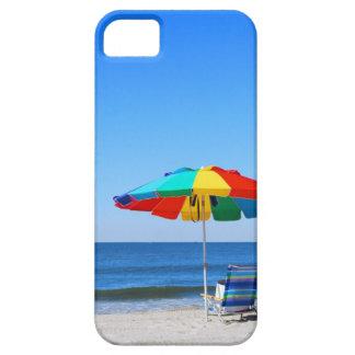 Escena del océano y de la playa iPhone 5 cárcasa